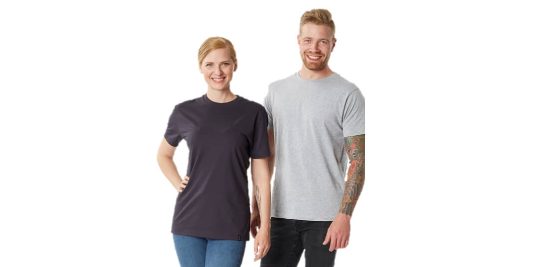 2019 - Models, Man, Woman, Sustainable products, T-shirts