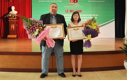 Award for high labour standards in Vietnam 2016