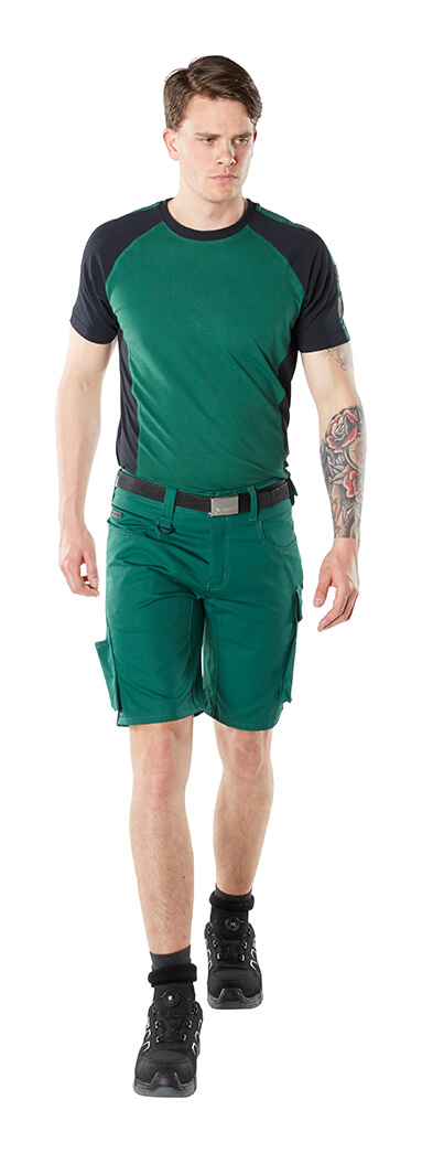Shorts & T-shirt - Green - Man
