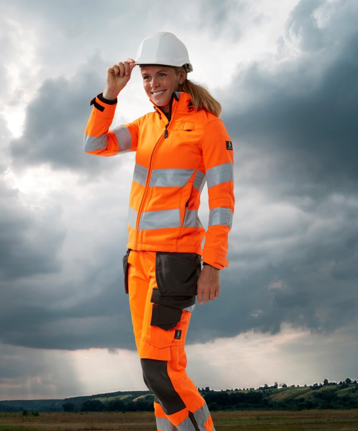 Jacket for women  - Fluorescent orange - MASCOT® SAFE SUPREME