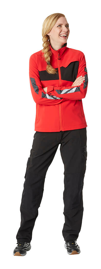 Workwear for women - MASCOT® ACCELERATE - Red - Model