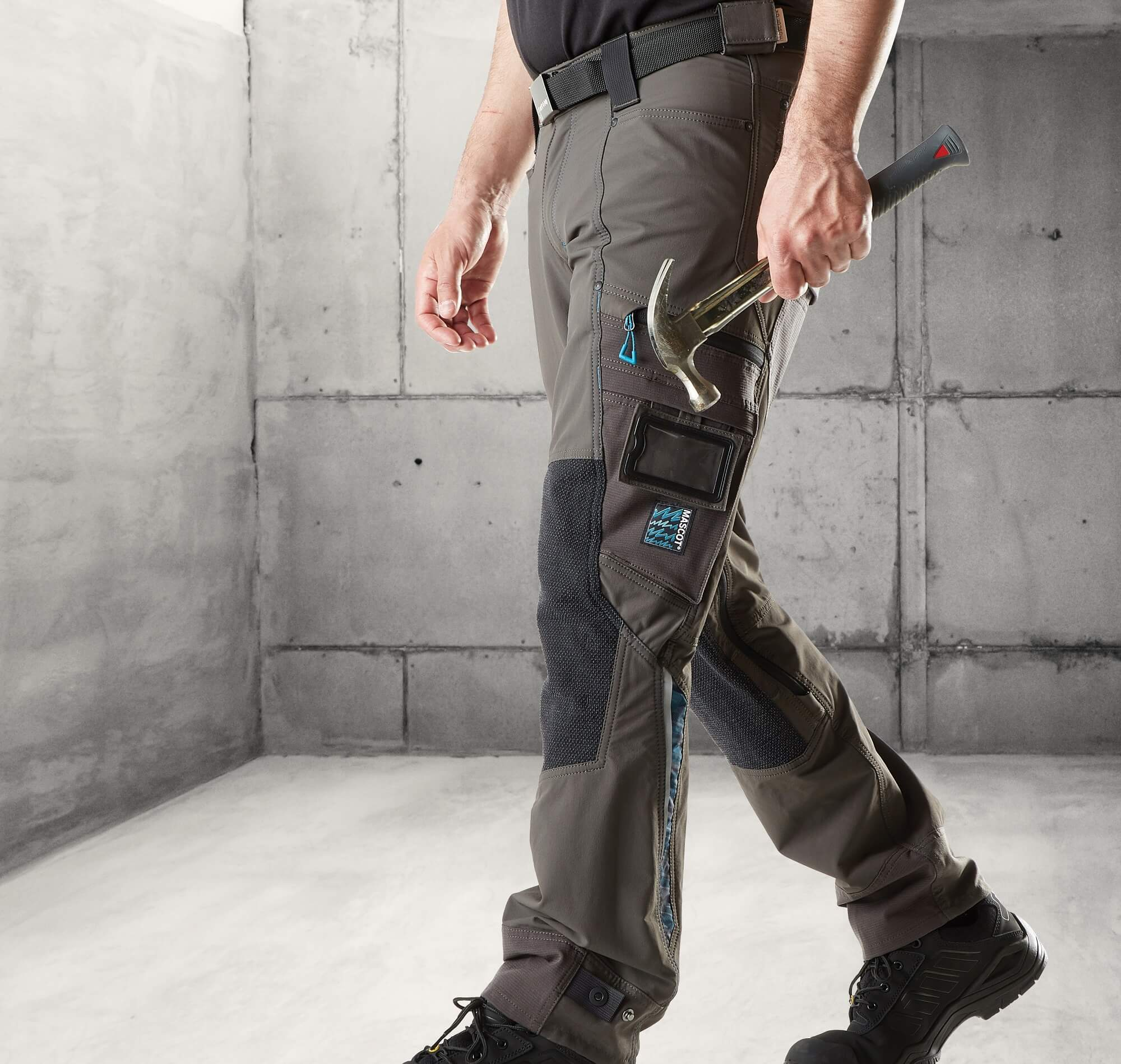 Trousers with kneepad pockets - MASCOT®