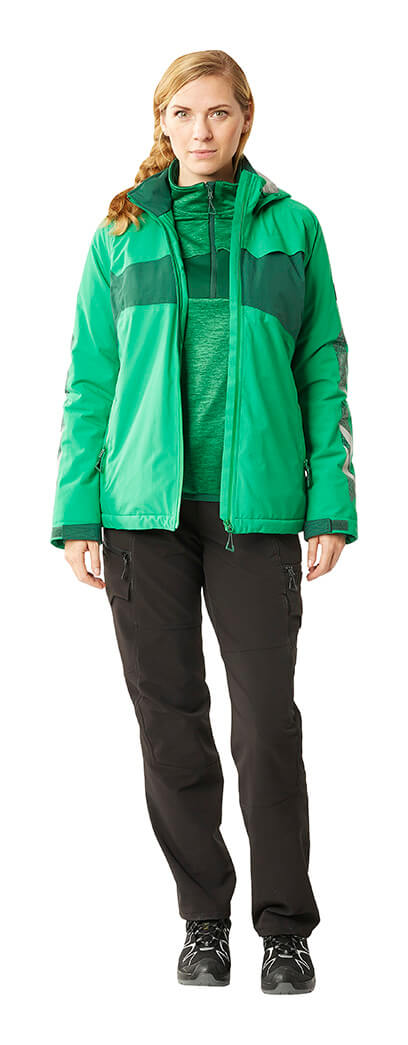 Jacket, Trousers & Jumper for women - Green - MASCOT® ACCELERATE
