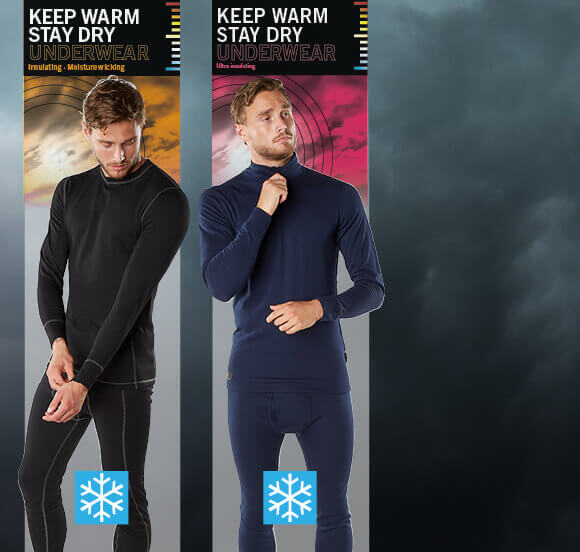 Extra insulating and moisture wicking underwear