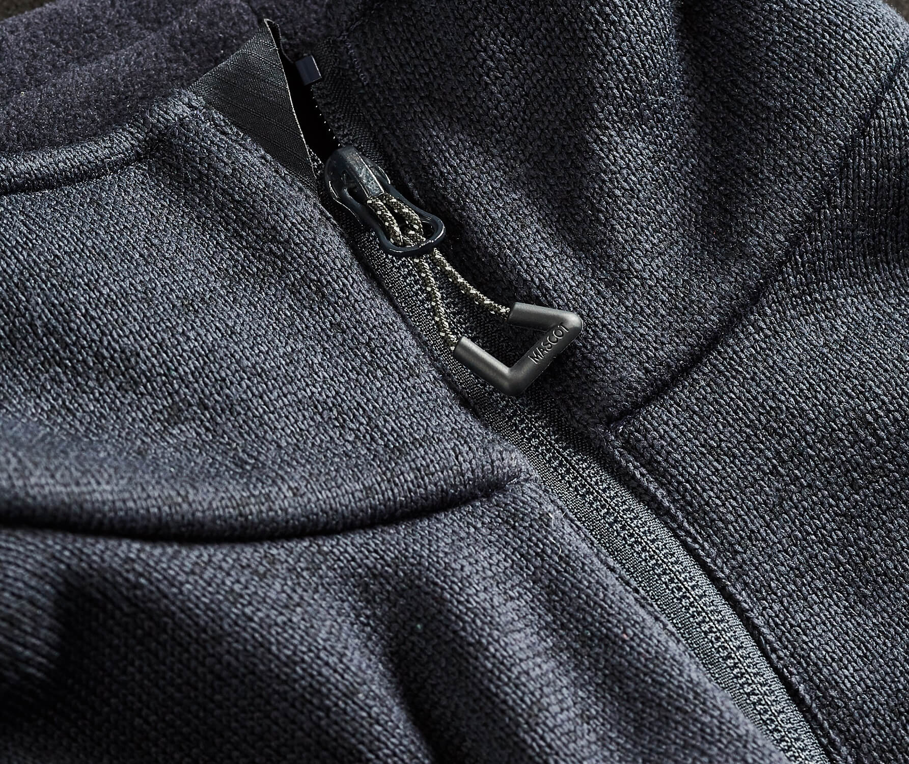MASCOT® ACCELERATE Knitted Jacket - Detail - Navy