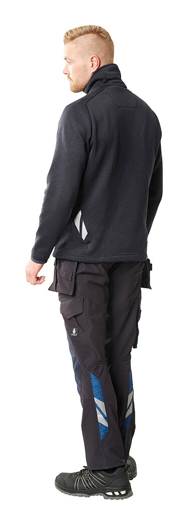 MASCOT® ACCELERATE - Navy - Jacket & Trousers with kneepad pockets - Model