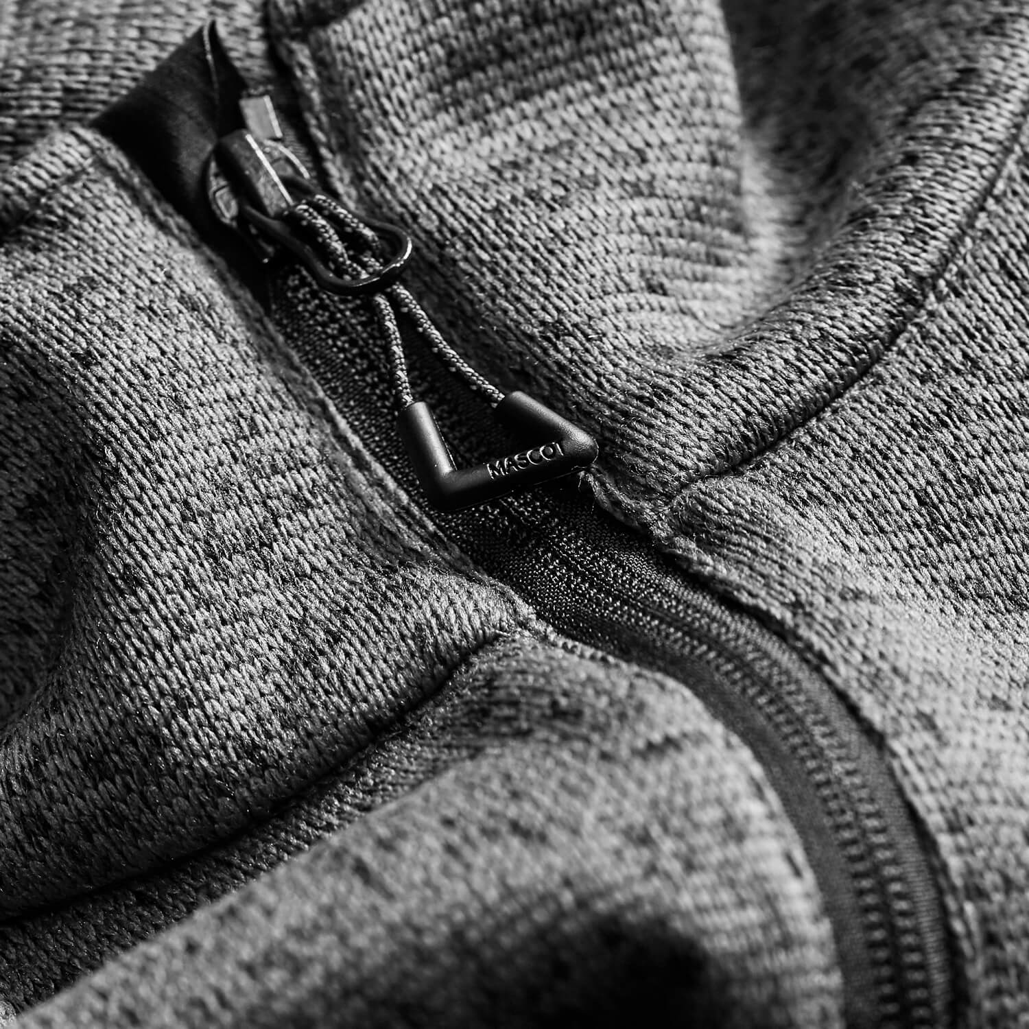 MASCOT® ACCELERATE Knitted Jacket Grey - Detail