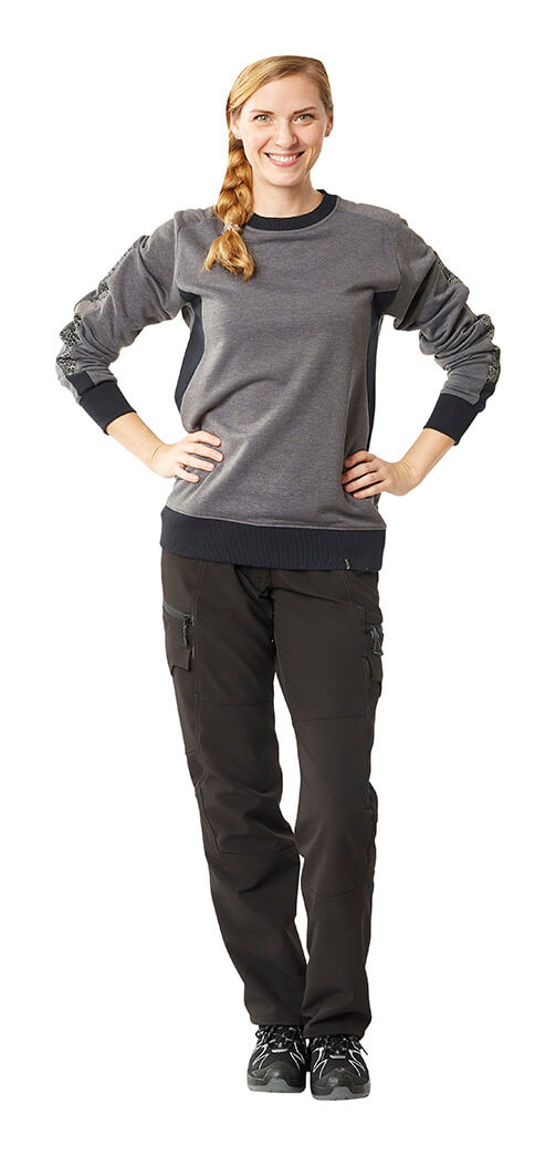 Grey & Black - MASCOT® ACCELERATE T-shirt for women & Trousers