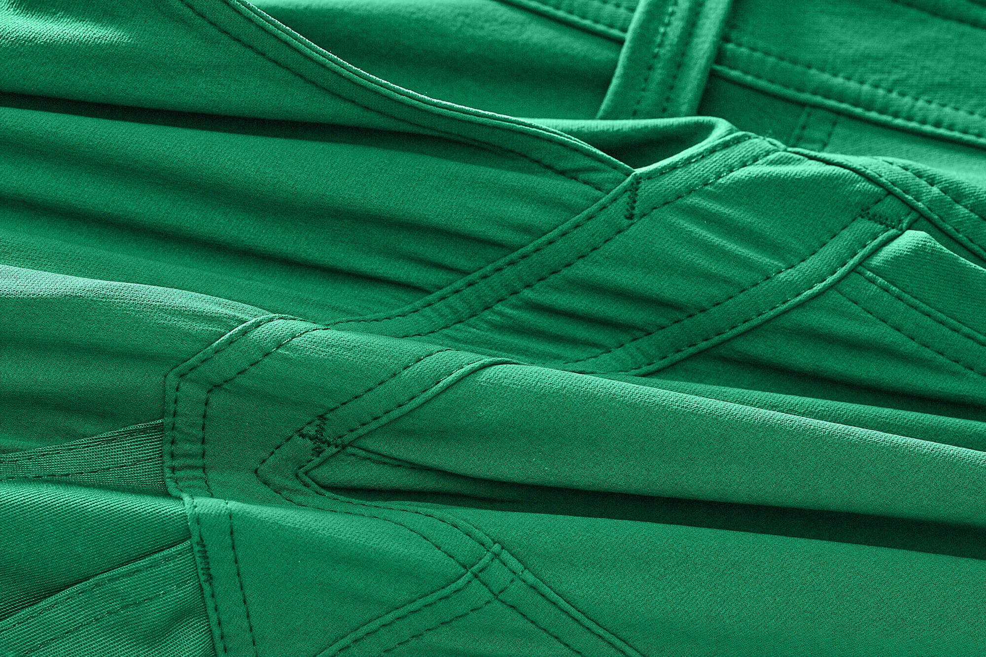 Stretchable fabric. - MASCOT® ACCELERATE - Green