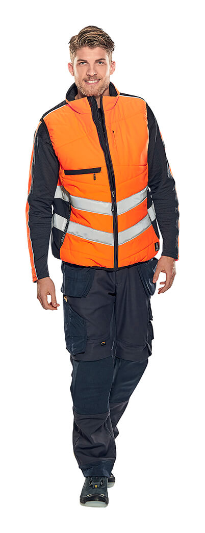 Model - Hi-vis Clothing Fluorescent orange - MASCOT® SAFE SUPREME