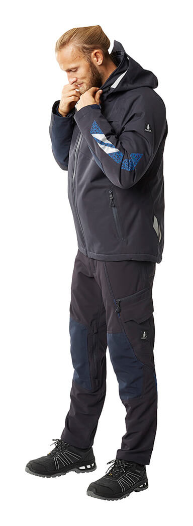 Navy - Winter Jacket & Trousers - MASCOT® ACCELERATE - Man
