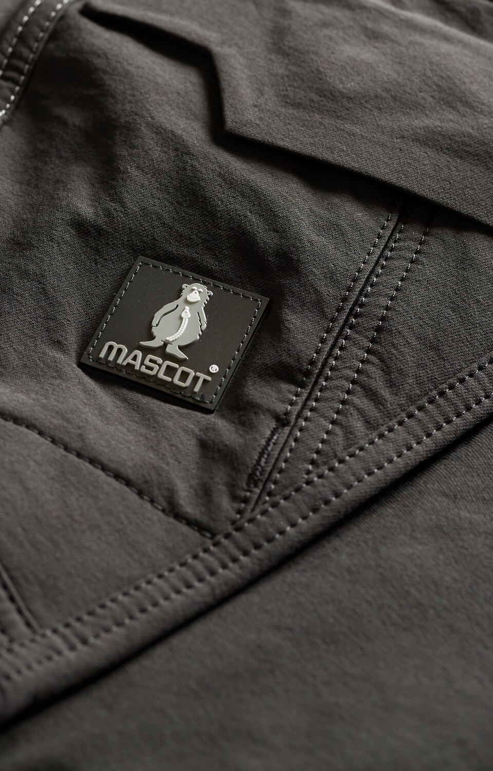 Trousers - Black - Detail - MASCOT® ACCELERATE