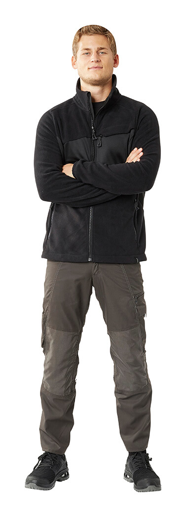 Fleece Jumper & Trousers with kneepad pockets - Man - MASCOT® ACCELERATE