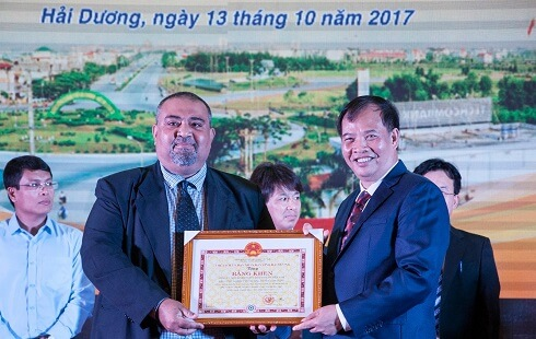 Award for production in Vietnam 2017