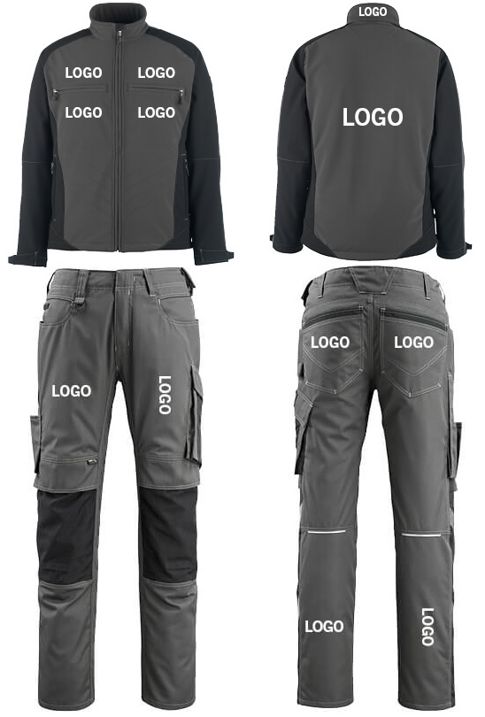 Work Jacket & Work Trousers - Location and size - MASCOT
