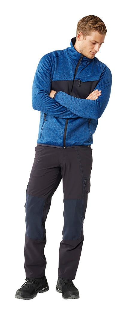 MASCOT® ACCELERATE - Man - Knitted Jumper with zipper & Work Trousers
