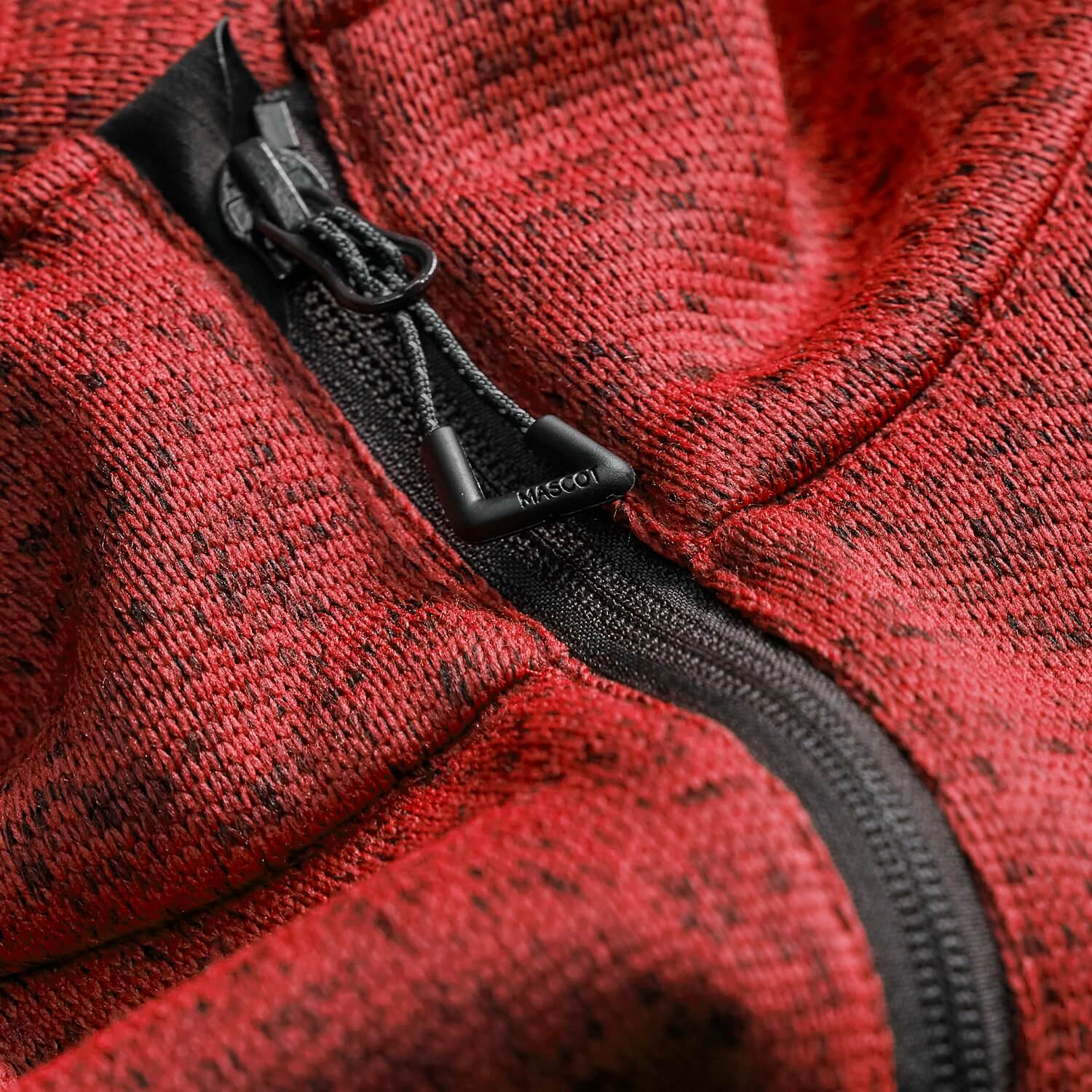 MASCOT® ACCELERATE Knitted Jacket - Detail - Red
