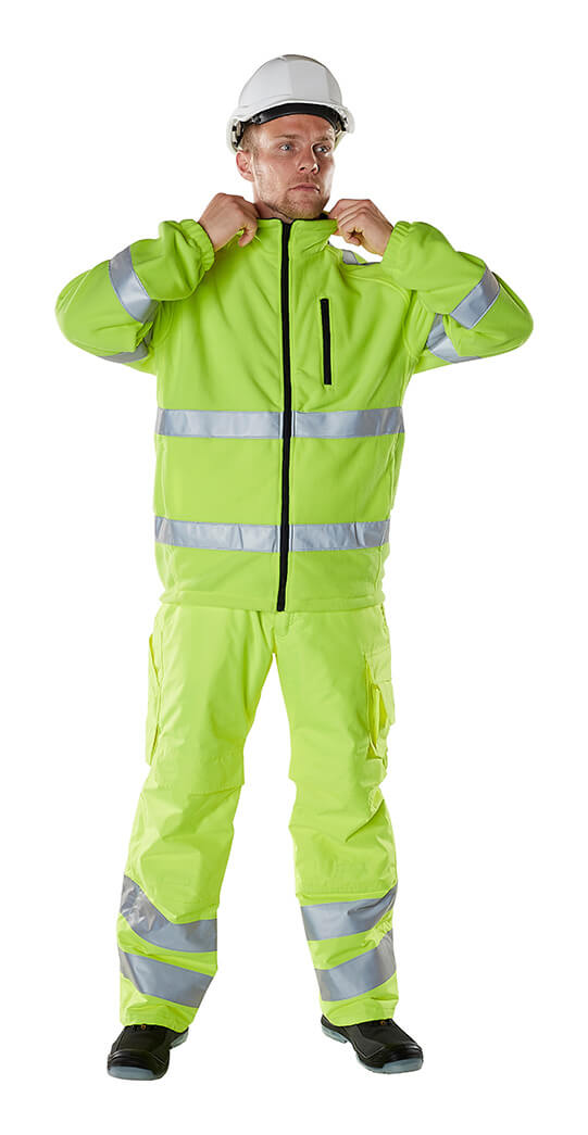 Winter Clothing - Fluorescent yellow - MASCOT® SAFE ARCTIC - Model