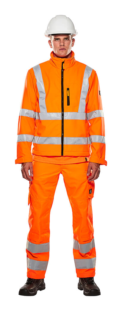 Work Jacket & Trousers - Fluorescent orange - MASCOT® SAFE LIGHT - Model